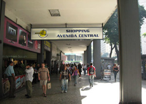 Shopping Avenida Central no Centro RJ